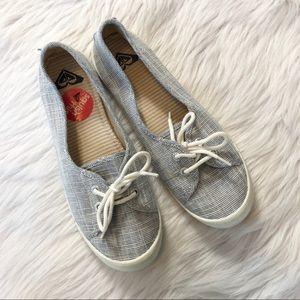 Roxy Blue Slide on Shoes